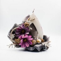 Κερί λουλούδια μωβ